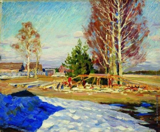 Виноградов С. А. Весенний пейзаж
