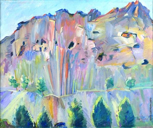 Сарьян М. С. Пещеры в скалах Аштарака