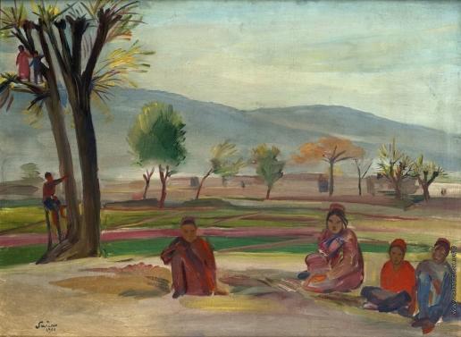 Сарьян М. С. Туркменские дети