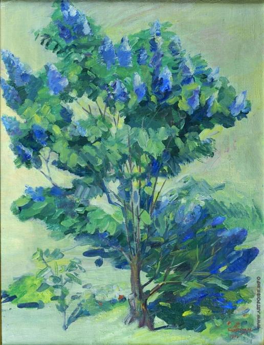 Сарьян М. С. Персиковые деревья