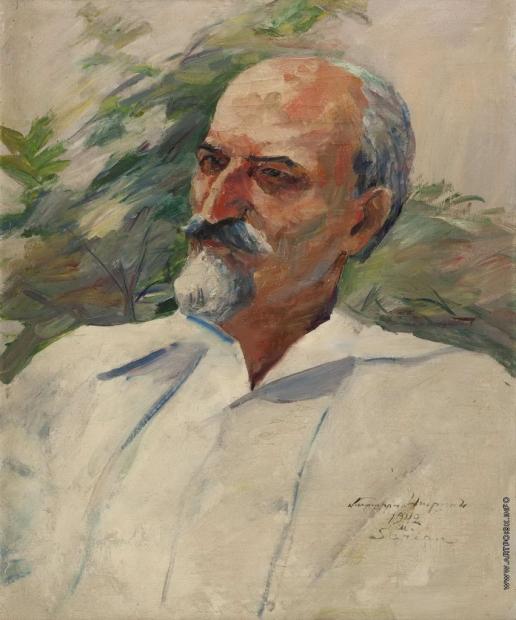Сарьян М. С. Портрет литературоведа А. Тертеряна