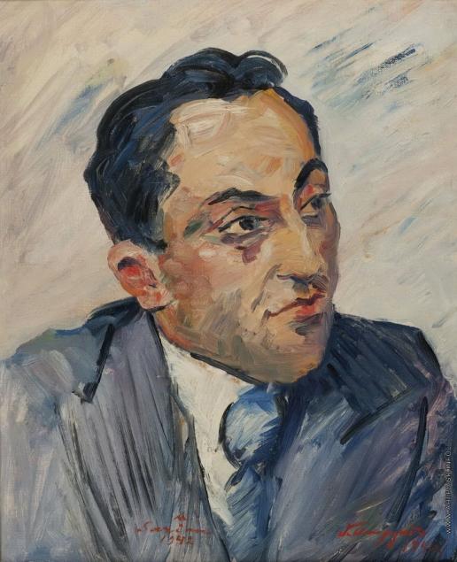 Сарьян М. С. Портрет архитектора С. Сафаряна