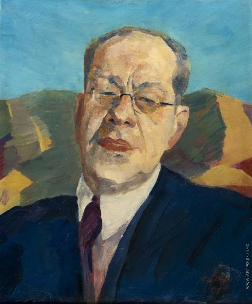 Сарьян М. С. Портрет переводчика М. Лозинского