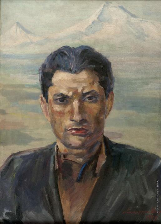 Сарьян М. С. Портрет поэта Ов. Шираза