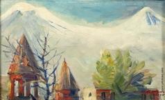 Сарьян М. С. Церковь Зоравор и Арарат