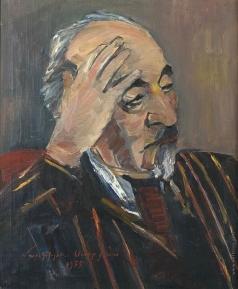 Сарьян М. С. Портрет А. Исаакяна