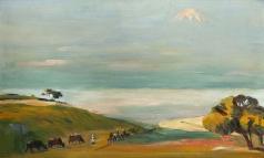 Сарьян М. С. Туман над Араратской долиной