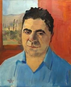Сарьян М. С. Портрет Виктора Амбарцумяна