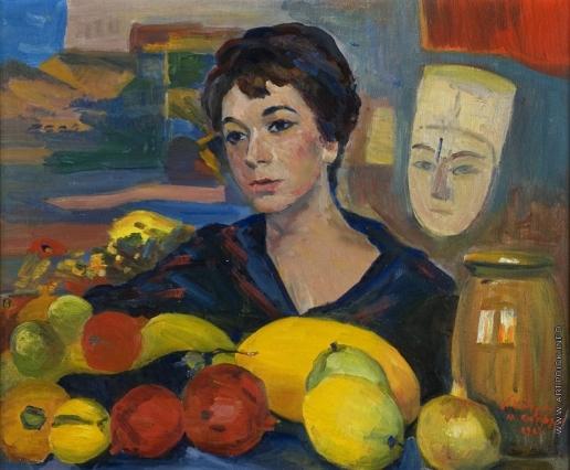 Сарьян М. С. Портрет Катаринэ Сарьян