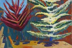 Сарьян М. С. Цветущие деревья
