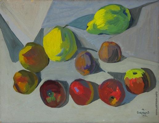 Сарьян М. С. Плоды