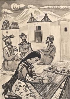 Сарьян М. С. Иллюстрация к сказке «Анаит»