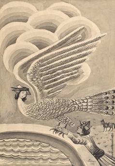 Сарьян М. С. Иллюстрация к армянской сказке «Гури-Пери»