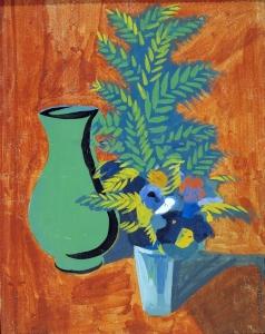 Сарьян М. С. Зеленый кувшин и букет