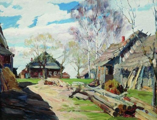 Виноградов С. А. Деревня