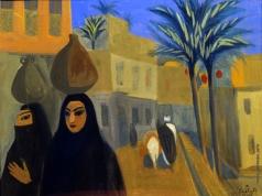 Сарьян М. С. Улица в Каире