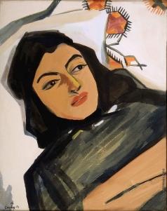 Сарьян М. С. Голова девушки