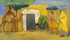 Сарьян М. С. В персидской деревне