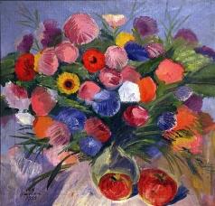 Сарьян М. С. Цветы
