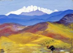 Сарьян М. С. Осень в горах Кавказа