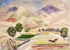 Сарьян М. С. Араратская долина