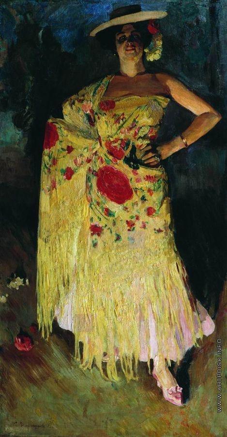 Виноградов С. А. Испанская танцовщица (Отэро)