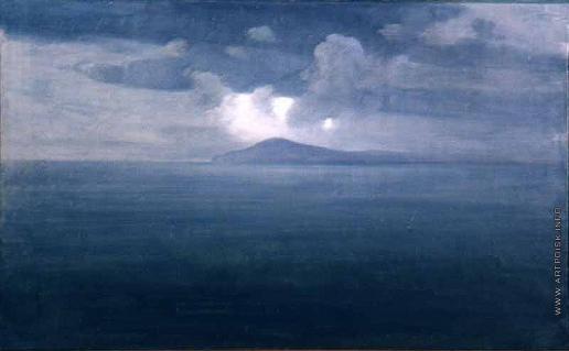 Куинджи А. И. Сумерки на море. Крым. Этюд