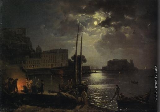 Щедрин С. Ф. Лунная ночь в Италии