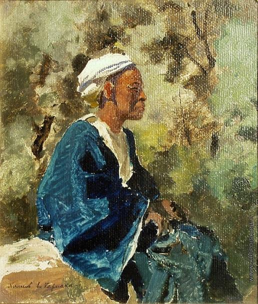 Поленов В. Д. Халиль в Карнаке