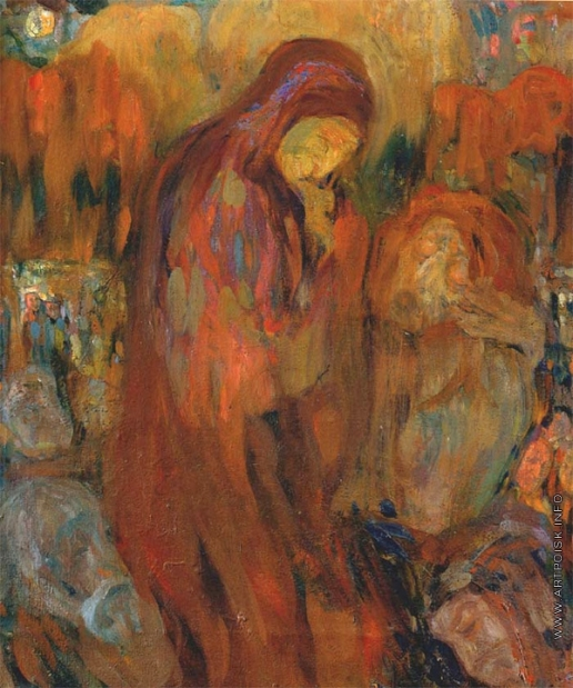 Милиоти Н. Д. Эскиз к картине «Оплакивание» (Pieta)