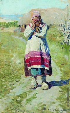 Виноградов С. А. Крестьянка