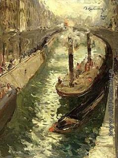 Щербиновский Д. А. Канал в Париже