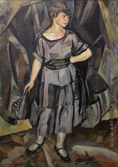 Шапшал Я. Ф. Женский портрет