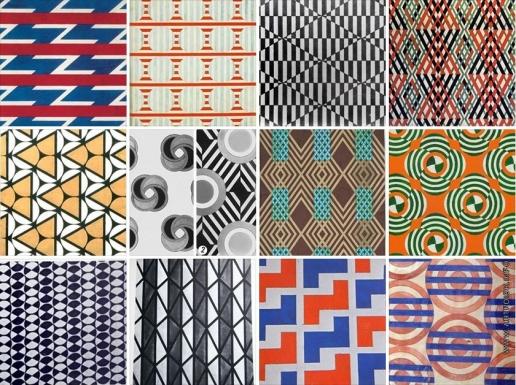 Степанова В. Ф. Текстильные проекты, рисунки для ткани