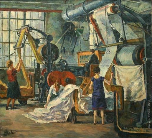 Шегаль Г. М. На текстильной фабрике