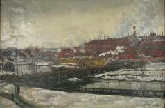 Секирин Н. П. Ивановский пейзаж