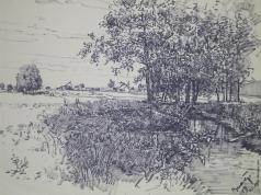 Пахров В. А. Деревня Ломы