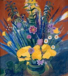 Сарьян М. С. Цветы Армении. (Cтепные цветы)