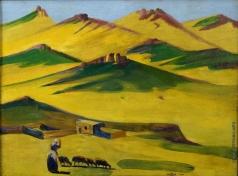 Сарьян М. С. Жаркий день в горах