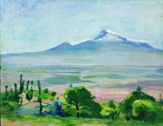 Сарьян М. С. Гора Арарат
