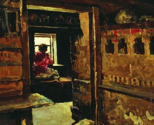 Виноградов С. А. Мальчик у окна