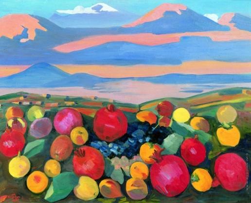 Сарьян М. С. Октябрь в Ереване
