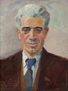 Сарьян М. С. Портрет Вагарша Вагаршяна