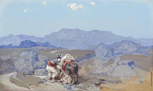 Колесников С. Ф. В Балканских горах