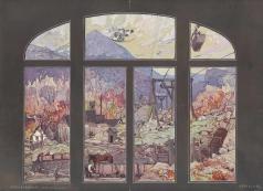 Колесников С. Ф. Вид на шахту горы Ртань