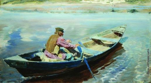 Виноградов С. А. На реке