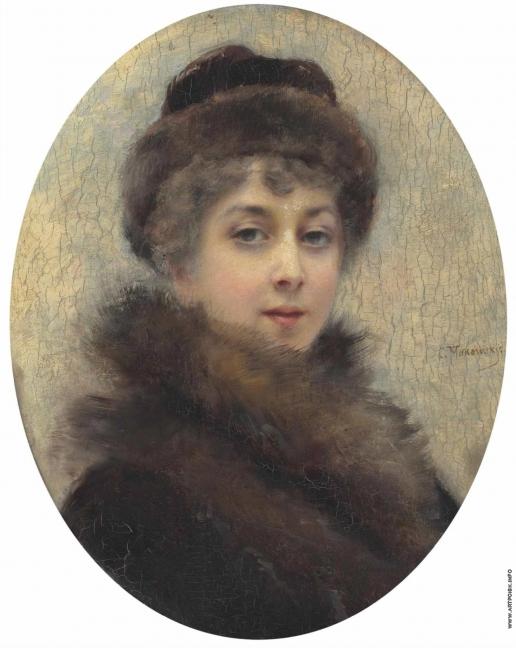 Маковский К. Е. Портрет Марии Матавтиной, третьей жены художника