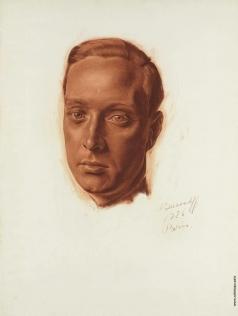 Яковлев А. Е. Портрет молодого мужчины