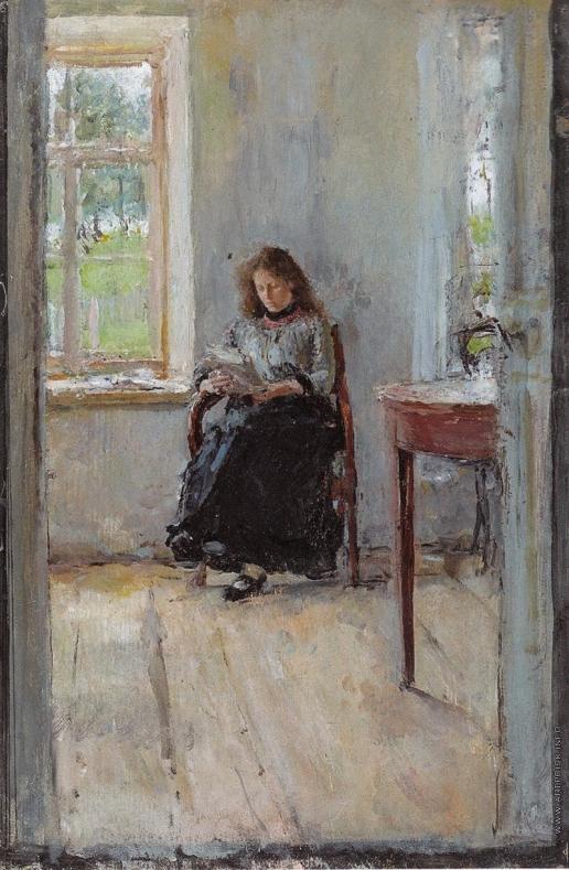Серов В. А. У окна