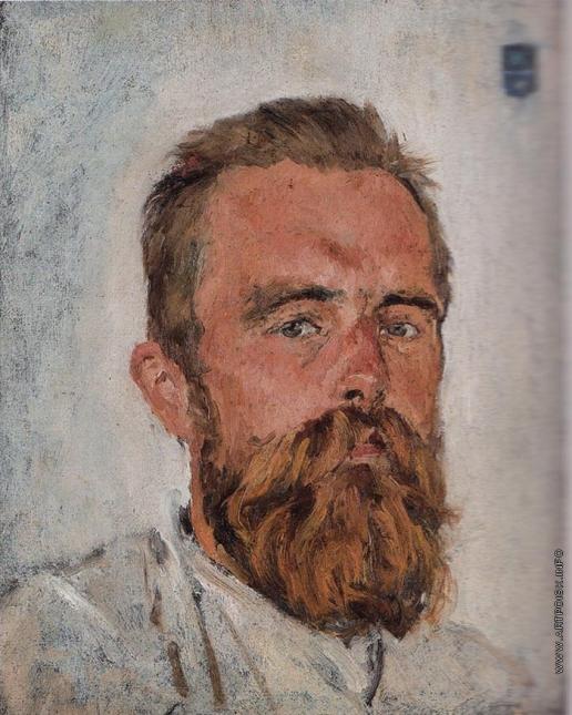 Серов В. А. Портрет В.Д. фон Дервиза